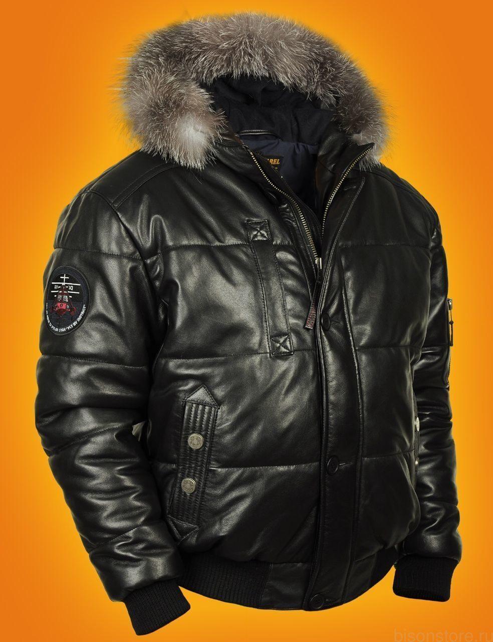 Мужской кожаный куртки цена