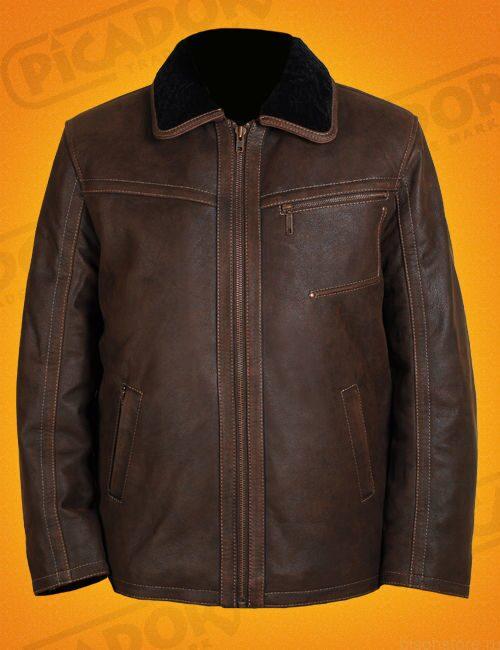 Мужская куртка из кожи буйвола-купить