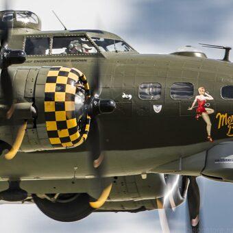 Легенда в небе войны: бомбардировщики США В-17