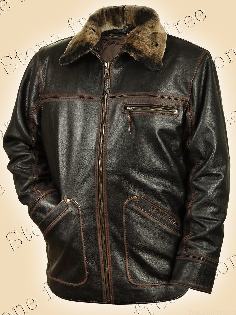 купить кожаную куртку мужскую большого размера в москве распродажа
