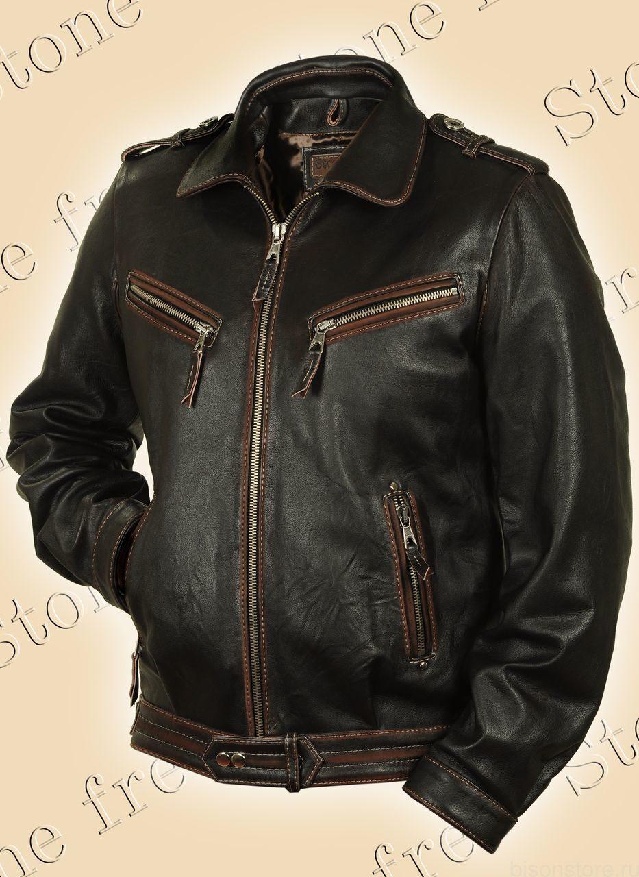 Куртки из натуральной кожи буйвола