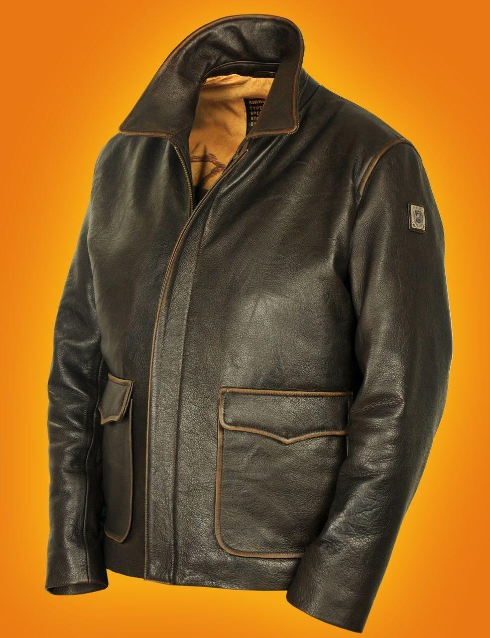 Куртка кожаная индиана