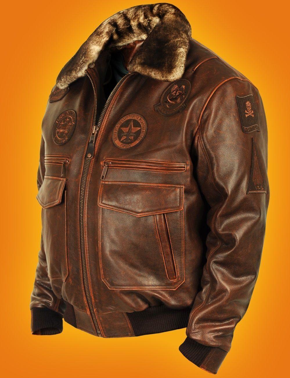 Кожаные лётные куртки военно-воздушных сил (ВВС) СССР и США Полезное 855fc2c9e57